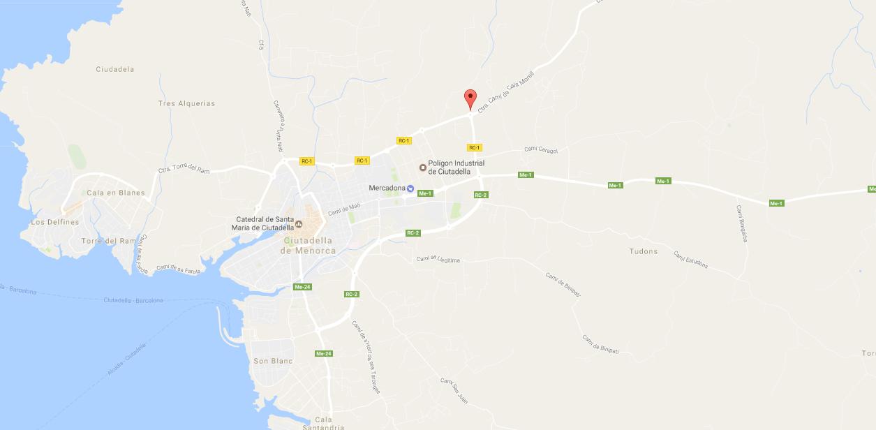 Mapa Google Ses Talaies