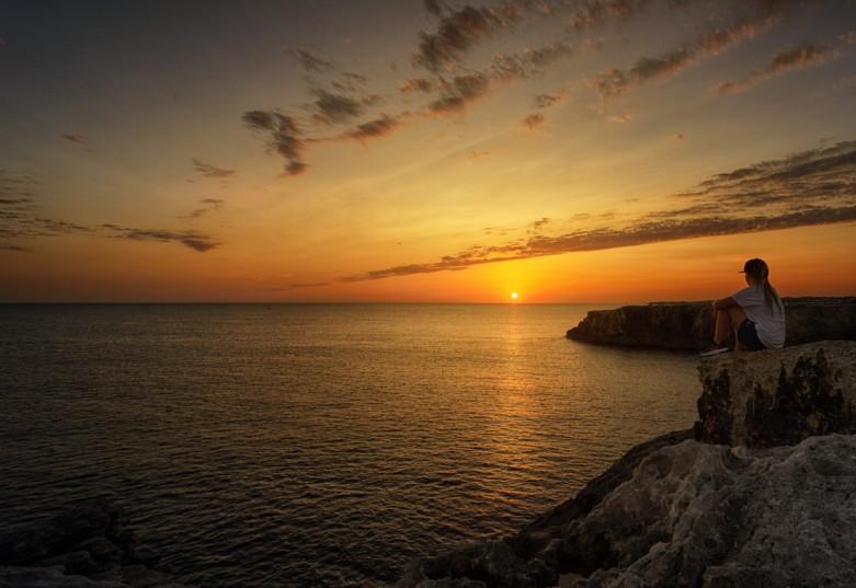 Sunsets at Punta Nati
